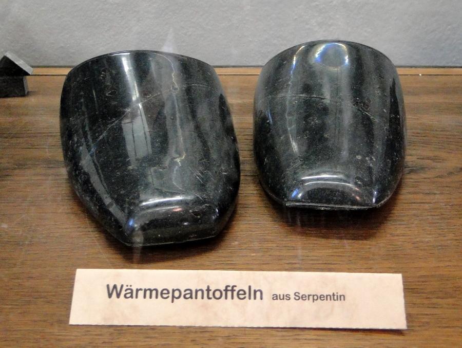 Wärmepantoffeln (Serpentin)
